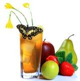 Honey and lemon drink Royalty Free Stock Photo