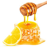 Honey and lemon Stock Photo