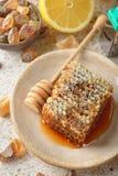 Honey, lemon and ginger Royalty Free Stock Photos