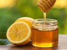 Honey Lemon. In a Jar Stock Images