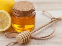 Honey Lemon Stock Photography