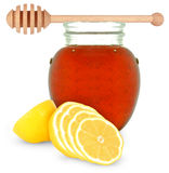 Honey and lemon Stock Image