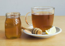 Honey lemon tea Stock Photography