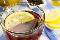 Honey, lemon, tea Stock Photos