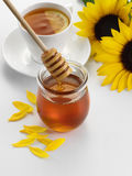 Honey Lemon Tea Stock Image