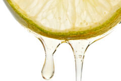 Honey and lime Stock Image