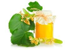 Honey and linden royalty free stock photos