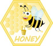 Honey Logo Royalty Free Stock Photos