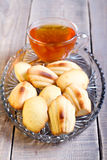 Honey Madeleines biscuits Royalty Free Stock Photo