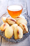 Honey Madeleines biscuits Royalty Free Stock Photography