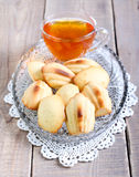 Honey Madeleines Royalty Free Stock Photos