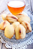 Honey Madeleines biscuits Stock Images