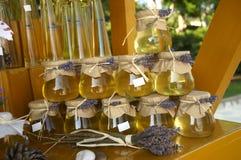 Honey market Royalty Free Stock Image