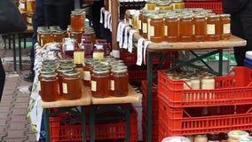 Honey Market stock video