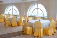 Honey and milk restaurant interior Royalty Free Stock Photography