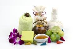 Honey mix lemon soap. Royalty Free Stock Photography