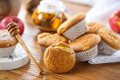 Honey muffins Stock Photo