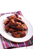 Honey and mustard pork ribs Stock Photography