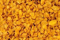 Honey And Nut Corn Flakes Breakfast Cereal Background stock image