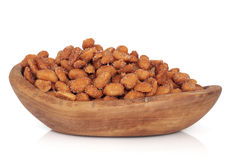 Honey Nut Peanuts Stock Photos