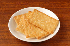 Honey-oats coconut biscuit Royalty Free Stock Photo