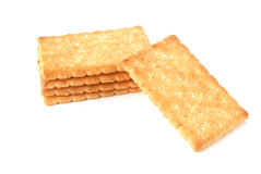 Honey-oats coconut biscuit Royalty Free Stock Images