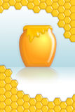 Honey poster Stock Images