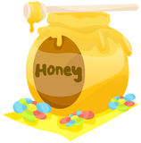 Honey pot Stock Photography