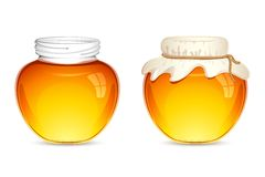 Honey Pot Royalty Free Stock Photo
