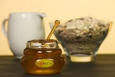 Honey Pot Stock Images