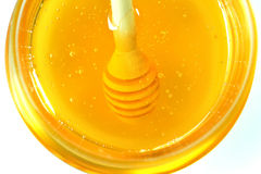 Honey pouring Stock Photos