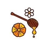 Honey product icon. Stock Photo