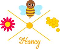 Honey production Stock Photography