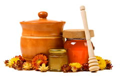Honey products Stock Image