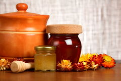Honey Products Royalty Free Stock Images