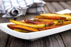 Honey roasted carrots Royalty Free Stock Image