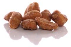 Honey roasted cashew nuts Stock Photo