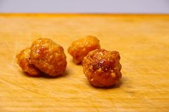 Honey roasted macadamia Royalty Free Stock Photography