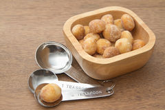 Honey roasted macadamia nut Royalty Free Stock Photos