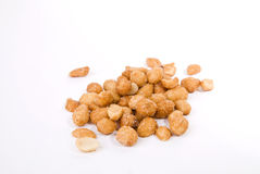 Honey roasted peanuts Stock Photo
