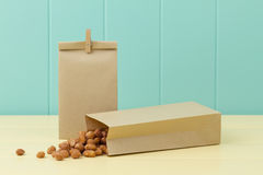 Honey roasted peanuts Royalty Free Stock Photo