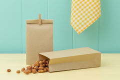 Honey roasted peanuts Stock Photos