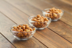 Honey roasted peanuts Stock Photography