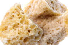 Honey Rock Sugar Royalty Free Stock Photo