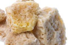 Honey Rock Sugar Stock Photo