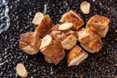 Honey Rosemary Chicken lizenzfreies stockbild