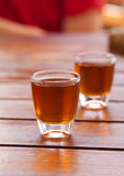 Honey rum Royalty Free Stock Photography