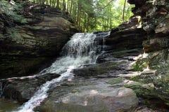 Honey Run Waterfalls royalty free stock photos