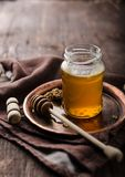 Honey rustic photography, food advertisment Stock Photo