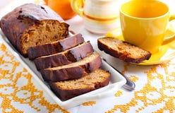 Honey rye loaf cake Stock Photography